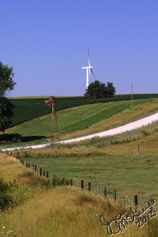 Windmills in Iowa