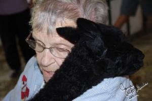 Grandma snuggling