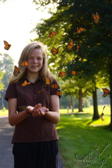audrey-releasing-butterflies